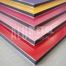 Insulation moistureproof competitive price list pvdf composite aluminum panel for facades