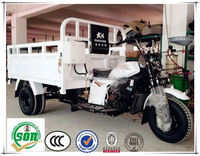 White color Dayang newest gasoline tricycle