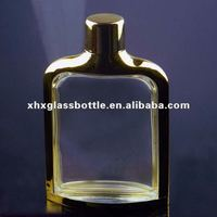 high quality 100ml men perfume cologne glass bottle with aluminium cover and cap wholesale