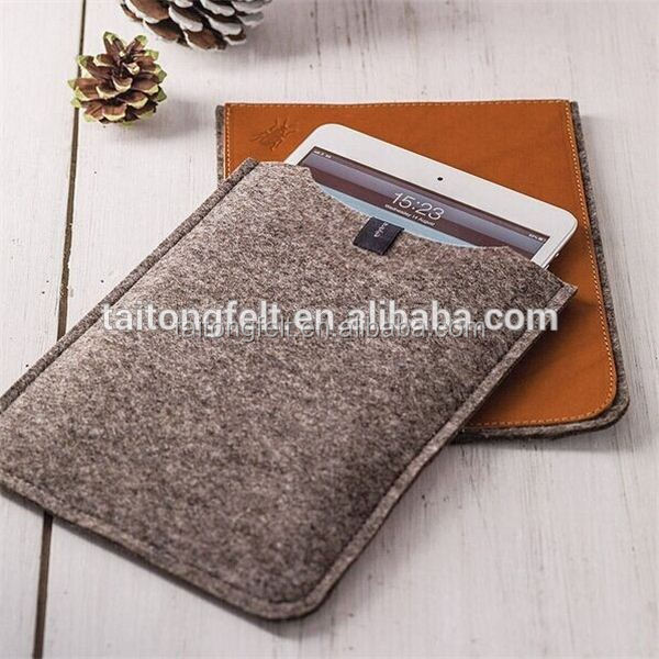 Manufacturers supply wool felt case for computer