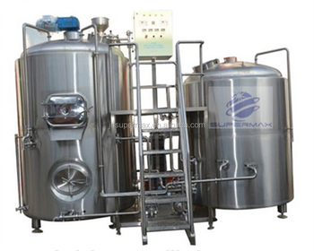 complete turnkey 2000L Used Beer Fermentation Equipment Microbrewery Equipment 2000L copper beer brewing equipment for sale