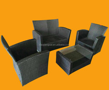 Assembled Artificial Rattan Outdoor Furniture