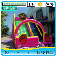 2016 QiLing made in China good sale commercial giant animal slide inflatable