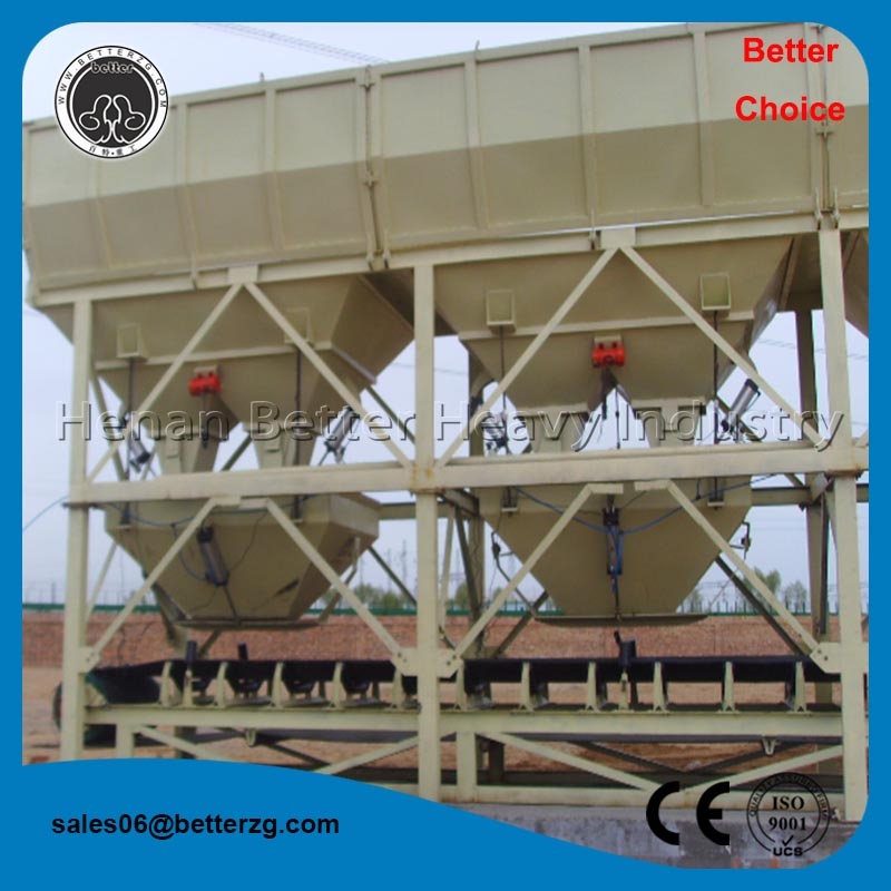 CE, ISO certified concrete mixer batching plant machine price
