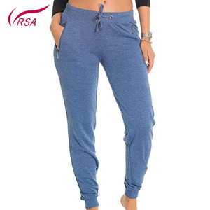 CustomJogger Slim fit Cuff Outside Zipper Women Fleece Jogger Pants