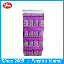 16 pocket Nonwoven fabric outdoor hanging wall shoes storage organizer