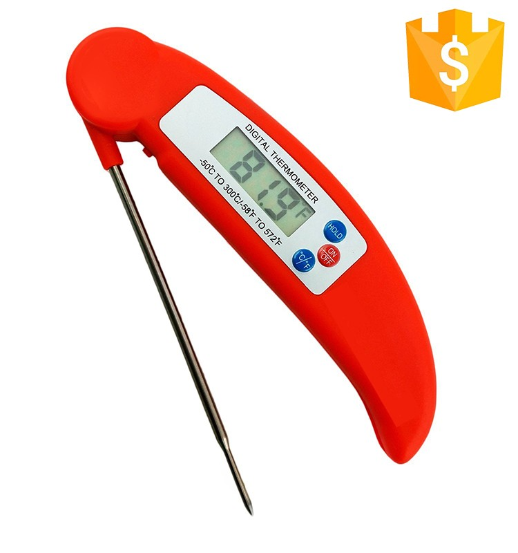 New Ultra Instant Read Super Fast Wireless BBQ Meat Digital Food Cooking Thermometer with Collapsible