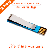Amazon Hot-selling 1gb Custom Logo Printed ultra slim Mini metal USB flash drive with Accept Paypal