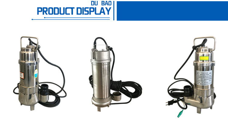 Modern Design Hot Sale High Precision Custom Stainless Steel submersible centrifugal pump