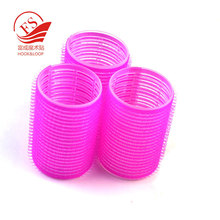 Stock magic tape hooks plastic hair rollers