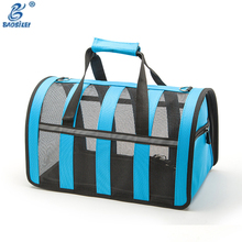 Colorful Pet Transport Ne Pet/Pe Plastic Ventilate Travel Pet Trolley Bag