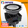 400W 15/25/45/60/90/100 degree soccer field led flood light