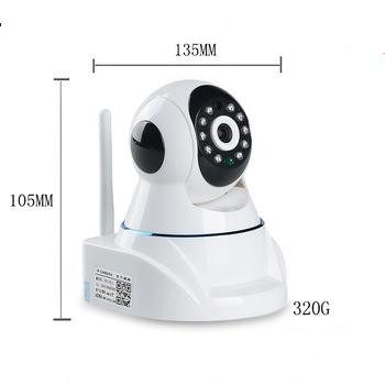 PIR Sensor motion detection infrared 10m night vision 720p camera ip wifi with two-way audio function BS-IP09