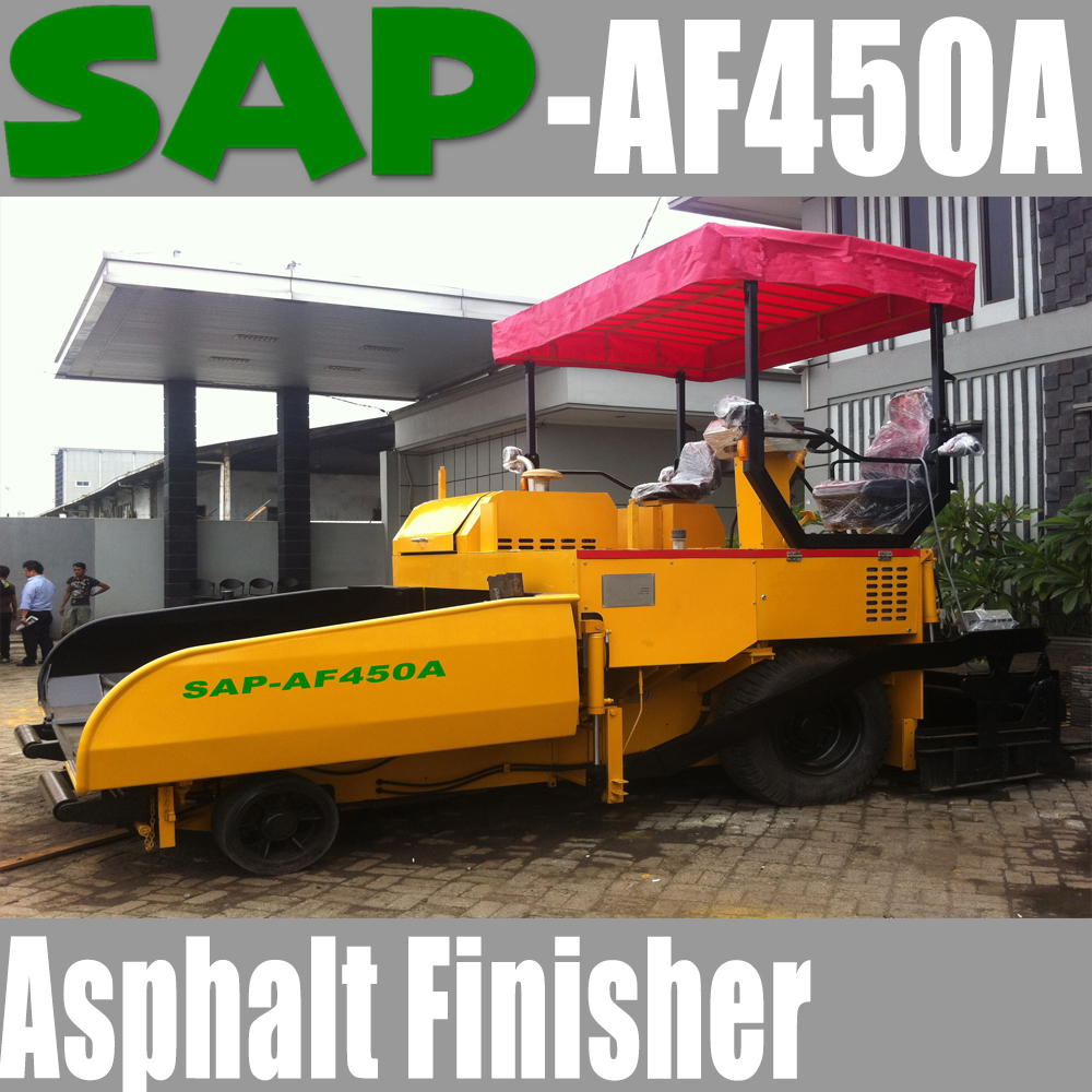 SAP-AF450 USED Asphalt Paver Asphalt Finisher 4.5m