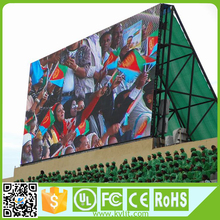 Big advertising P6 led display/screen/panel/billboard/sign,Full color /Kalit fixed 6mm outdoor large advertisement
