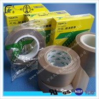 PTFE coated 0.25mm thickness seamless adhesive tape