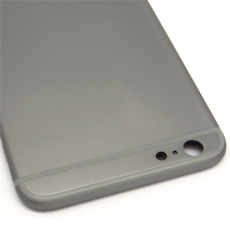 Mobile phone accessories for iphone 6 plus housing back cover gray color