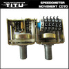China motorcycle speedometer movement for CD70, CG125, CGL125, AX100, BAJAJ BOXER, PULSAR, TVS & etc.