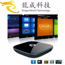 2016 best android hd video tv box Q BOX s905x octa core 2gb 16gb amlogic s912 android 6.0 tv box