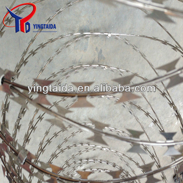 razor barbed wire safty fence wire fencing