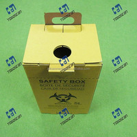 Cardboard Sharp Container safety box