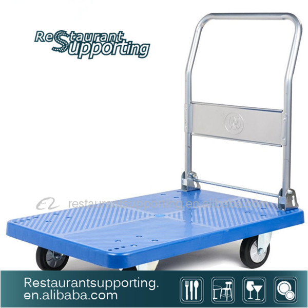 Foldable Platform Truck/Handtruck Hand Truck With Rubber Wheel