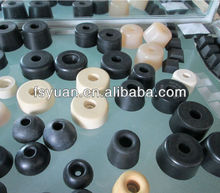"5/8"" 3/4"" 25/32"" 1"" 1 1/4"" 1 1/2"" inch anti slip shock rubber tips for chairs internal metal washer 1 1/4"" thickness rubber feet"