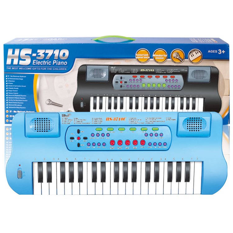 plastic educational toy electric piano keyboard