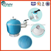 fiberglass material sand filter tank for swimming pool circulation and water treatment