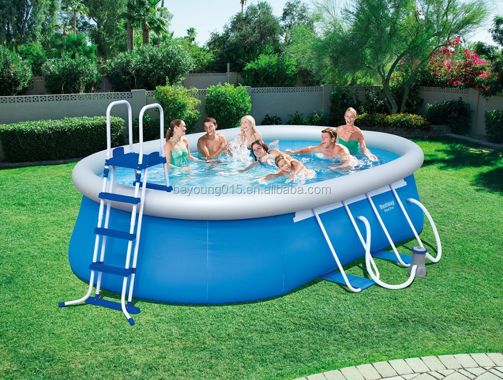 20 ftx48 in Bestway Power Steel Frame Pools large above ground pools sale
