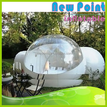 New Point Outdoor Champing Bubble Tent , Clear Inflatable Lawn Tent