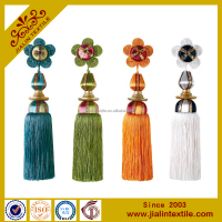flower making decorative cotton tassel