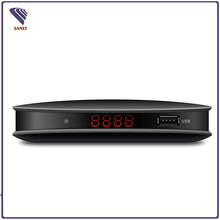 Manufacturer Cheap dvb t2 iptv set top box with LED display