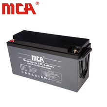 12v 150ah deep cycle gel battery for marine/boat