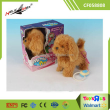 Popular Cute Metro Pet Plush Dog Wire Control Toy Poodle for Sale