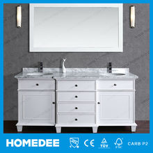 "72"" Modern Double Bowl Bathroom Vanity for North America"