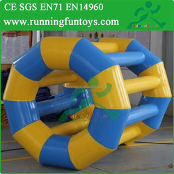 Inflatable Hamster Roller Wheel, Inflatable Trolley Wheel, Inflatable Water Roller Wheel