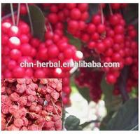 Hot selling organic chinese herbs high quality fructus schisandrae p.e. with high quality
