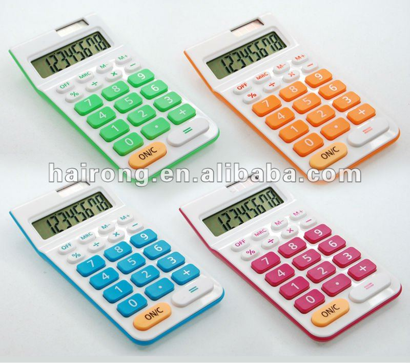 Corporate Gifts-Dual Power 8 Digit Pocket Calculator
