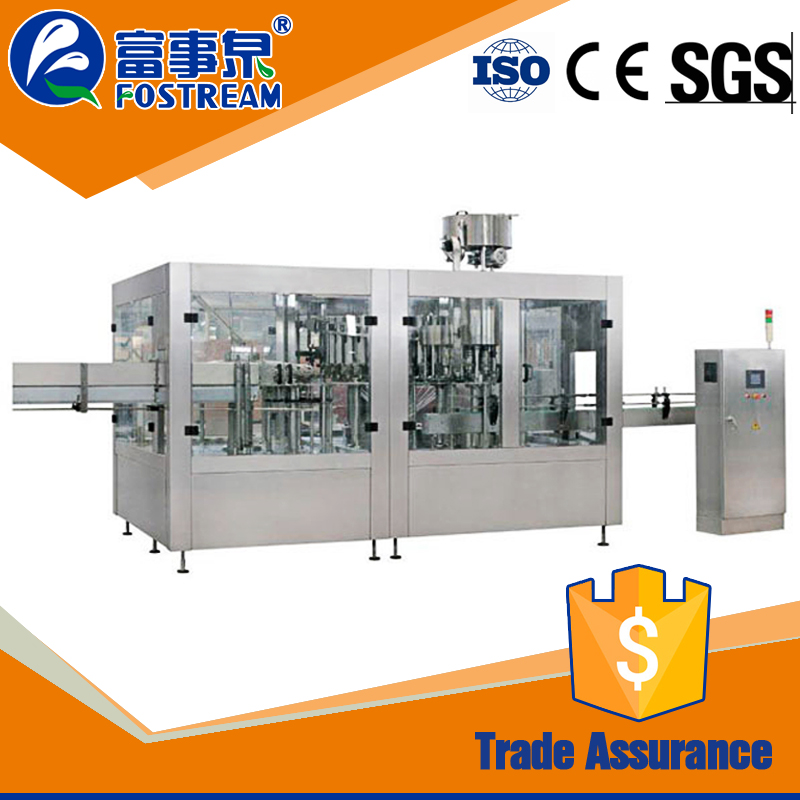 Stable automatic drinking bottle water filling sealing equipment