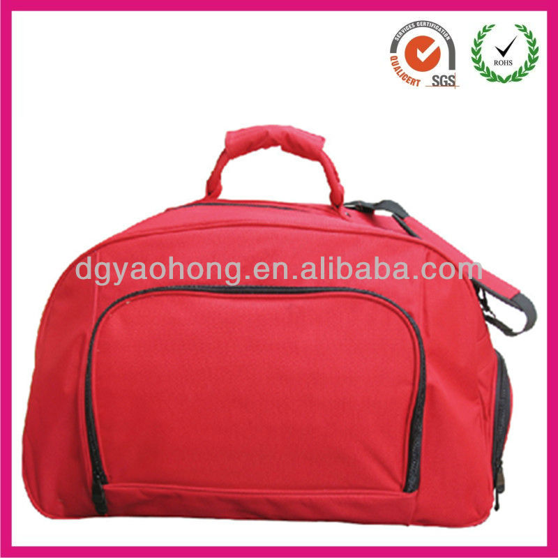 2013 dongguan cheap simply traveling bag tote(factory)