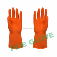 rubber heavy duty chemical resistant gloves