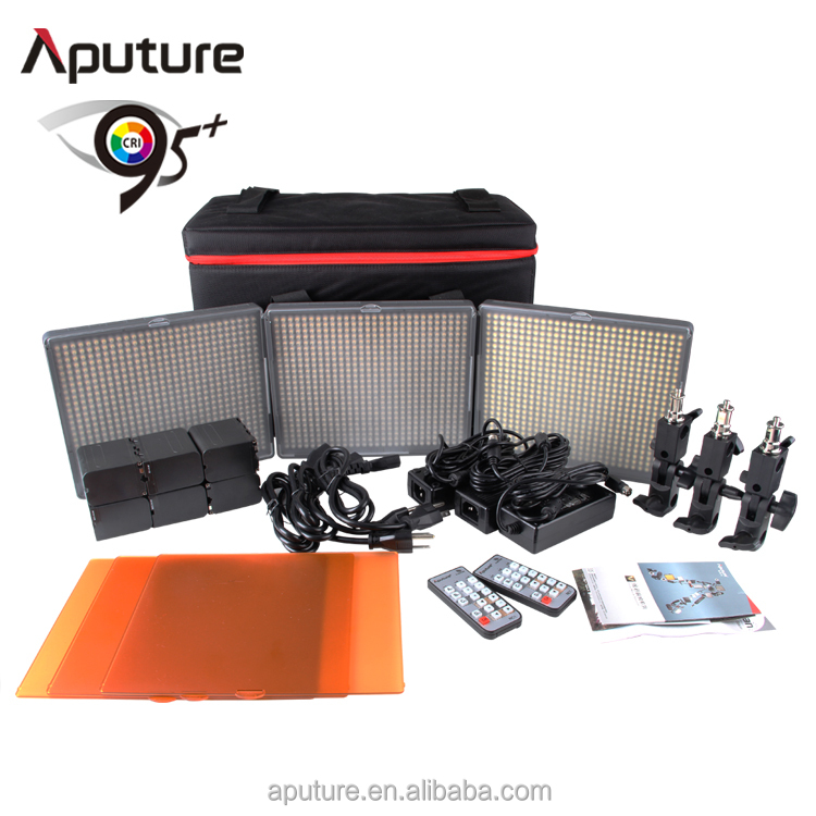 Aputure CRI 95+ mini photographic equipment studio lighting kit