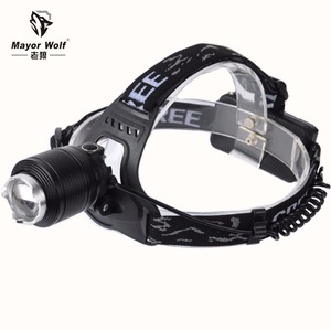 18650 Lithion 3.7V rechargeable led headlamp flashlight for camping hunting hiking