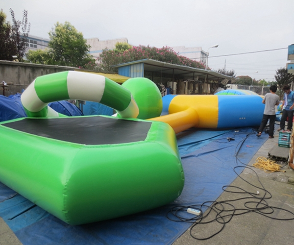 adult inflatable water park for 100+ people