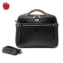 Supplier Excellent Stylish Leather Office Bag Comfortable Design Laptop Bag Briefcase For Men