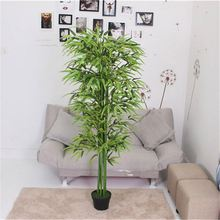 Fast delivery superior quality realistic artificial bamboo tree s&flowers