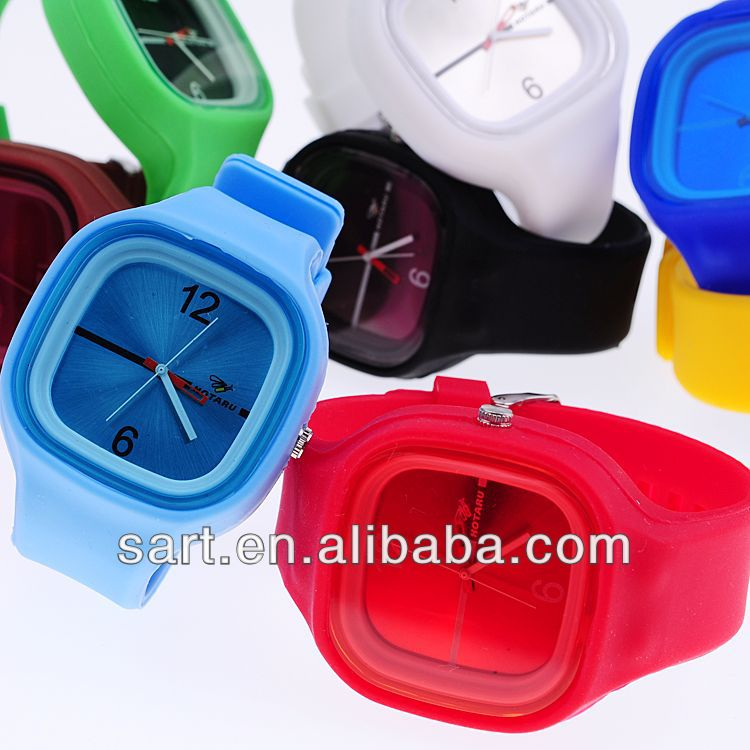 wholesale cool silicone flexible ladies designer watches