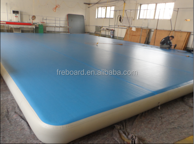 Big size gym equipment/Inflatable Air tumble Track/Air mat