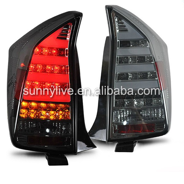 For TOYOTA Prius LED Tail Lamp 2009-Up Smoke Black Color SN